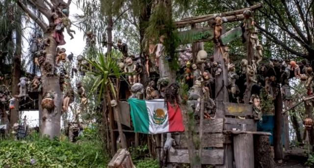 Мексиканский остров кукол на сегодняшний день