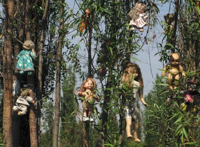 Жуткий Остров Кукол в Мексике