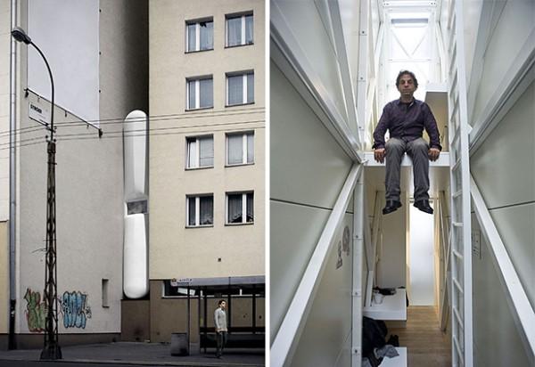 В Варшаве находится самый узкий в мире дом