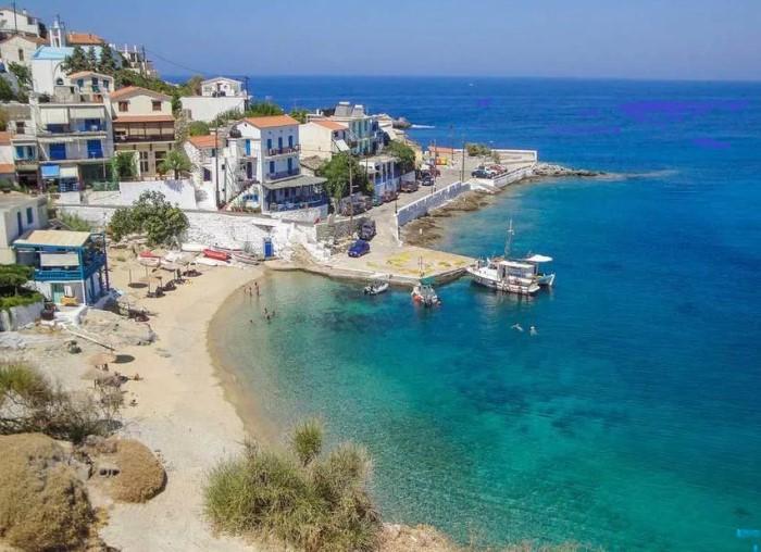 Остров Икария в Греции