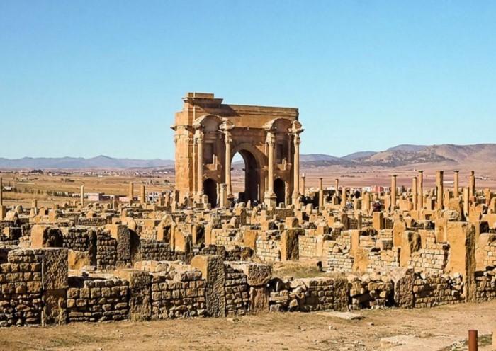 Тимгад - римский город