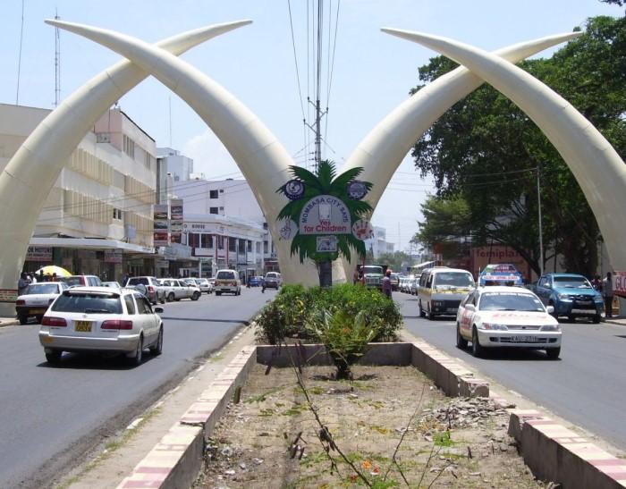 Бивни Момбаса в Кении
